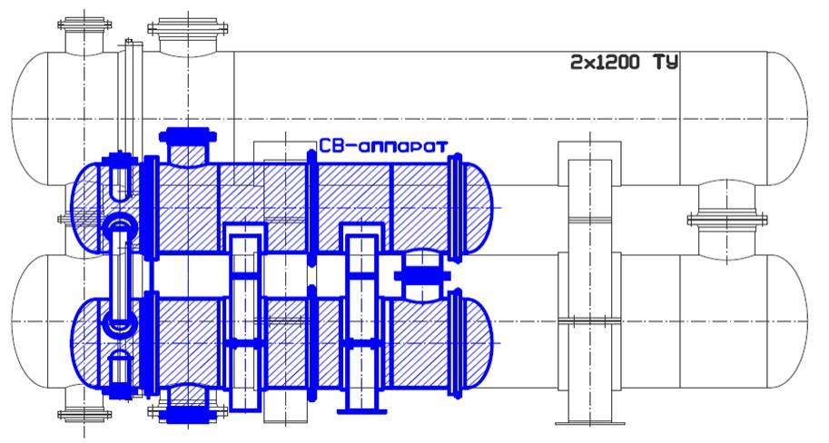 Теплообменник кожухотрубчатый винтовой STEELTEX THERMO SPRAY - Очиститель камеры сгорания Саров